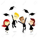 32135197-Cuatro-graduados-universitarios-j-venes-saltando-y-lanzando-su-casquillo-feliz-como-la-cultura-del-d-Foto-de-archivo